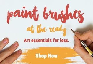 Paintbrushes Dropdown Promo 2