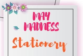 MAY MADNESS - STATIONARY