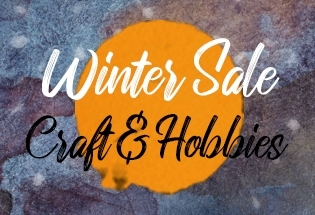 WINTER SALE - CRAFT & HOBBIES