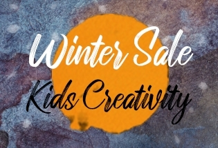 WINTER SALE - KIDS CREATIVITY