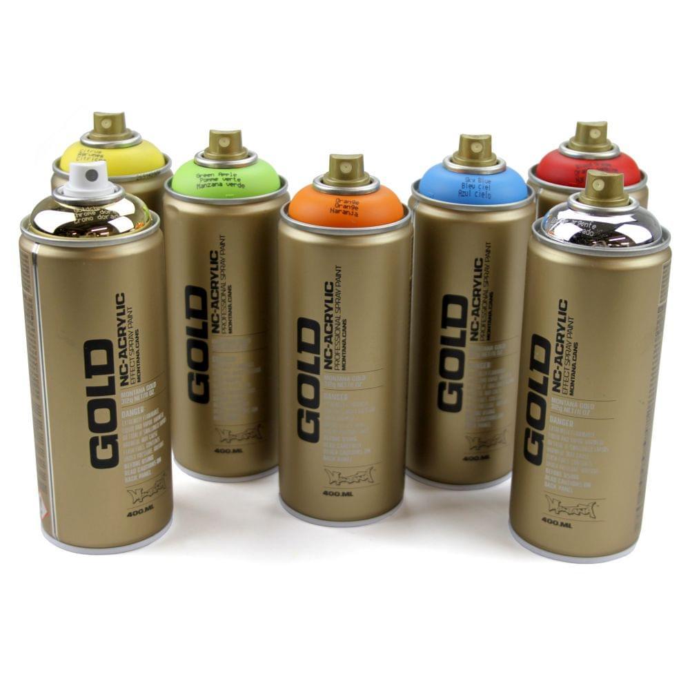 Montana Gold Spray Paint 400ml