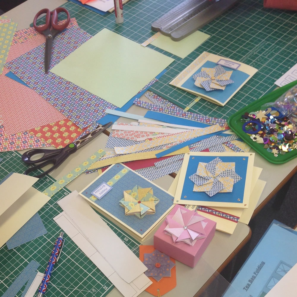 monthly card making and paper craft  2hrs  13301530
