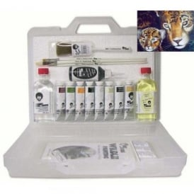 Mother & Baby Jaguar Paint Set