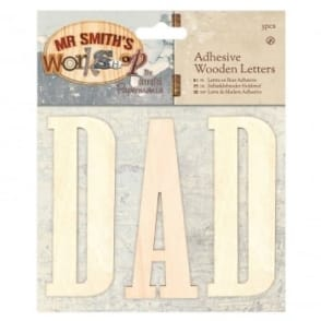 Mr Smiths Workshop Adhesive Letters - DAD