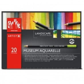Museum Aquarelle Water Soluble Pencils - Landscape Assortment