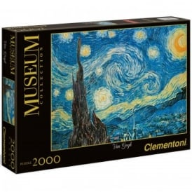 Museum Collection Van Gogh Starry Night - 2000 Piece Puzzle