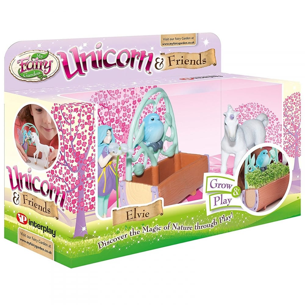 My Fairy Garden Unicorn U0026amp; Friends Playset