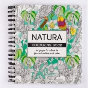 Natura Colouring Book