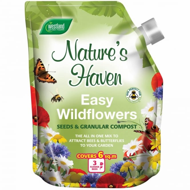Nature's Haven Easy Wildflowers Mix 1.5KG