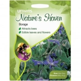 Natures Haven Borage Seeds