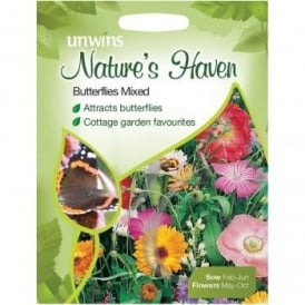 Natures Haven Butterflies Mix Seeds