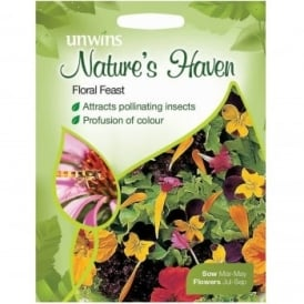 Natures Haven Floral Feast Mixed Seeds