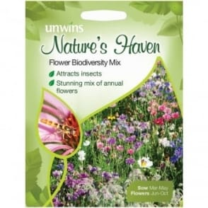 Natures Haven Flowers Biodiversity Mixed Seeds