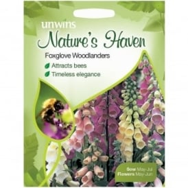 Natures Haven Foxglove Woodlanders Seeds