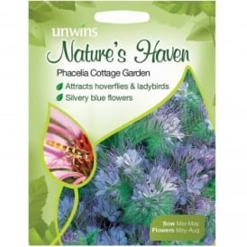 Natures Haven Phacelia Cottage Garden Seeds