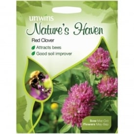 Natures Haven Red Clover Seeds