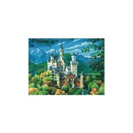 Neuschwanstein Castle Large Painting By Numbers