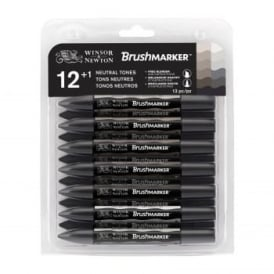 Neutral Tones BrushMarker set of 12