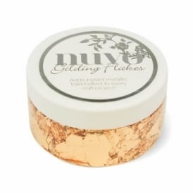 Nuvo Gilding Flakes - Sunkissed Copper 200ml