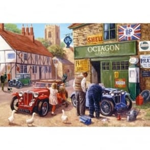 Octagon Garage 500 Piece Puzzle