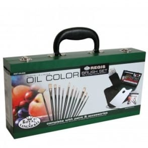 Oil Colour Painting for Beginners 2000 Wooden Box