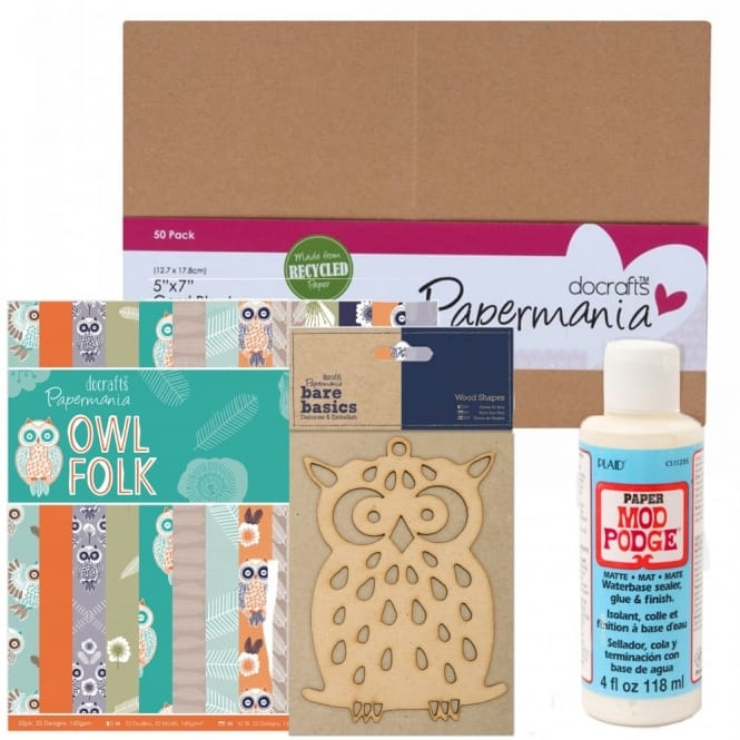 Owl Card Making Bundle