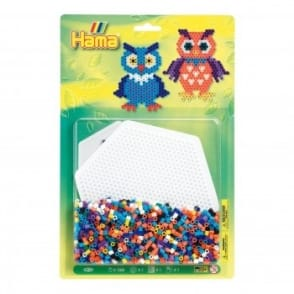Owls Bead Pack - Green