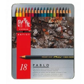 Pablo Colour Pencils (Tin of 18)