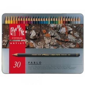 Pablo Colour Pencils (Tin of 30)