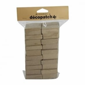 Pack of 10 Small Papier Mâché Square Boxes