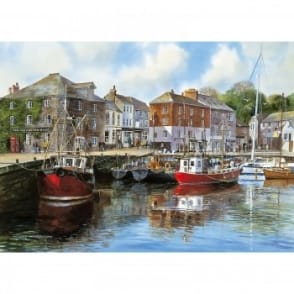 Padstow Harbour by Terry Harrison 1000 Piece Puzzle