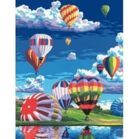 Painting By Numbers - Balloons