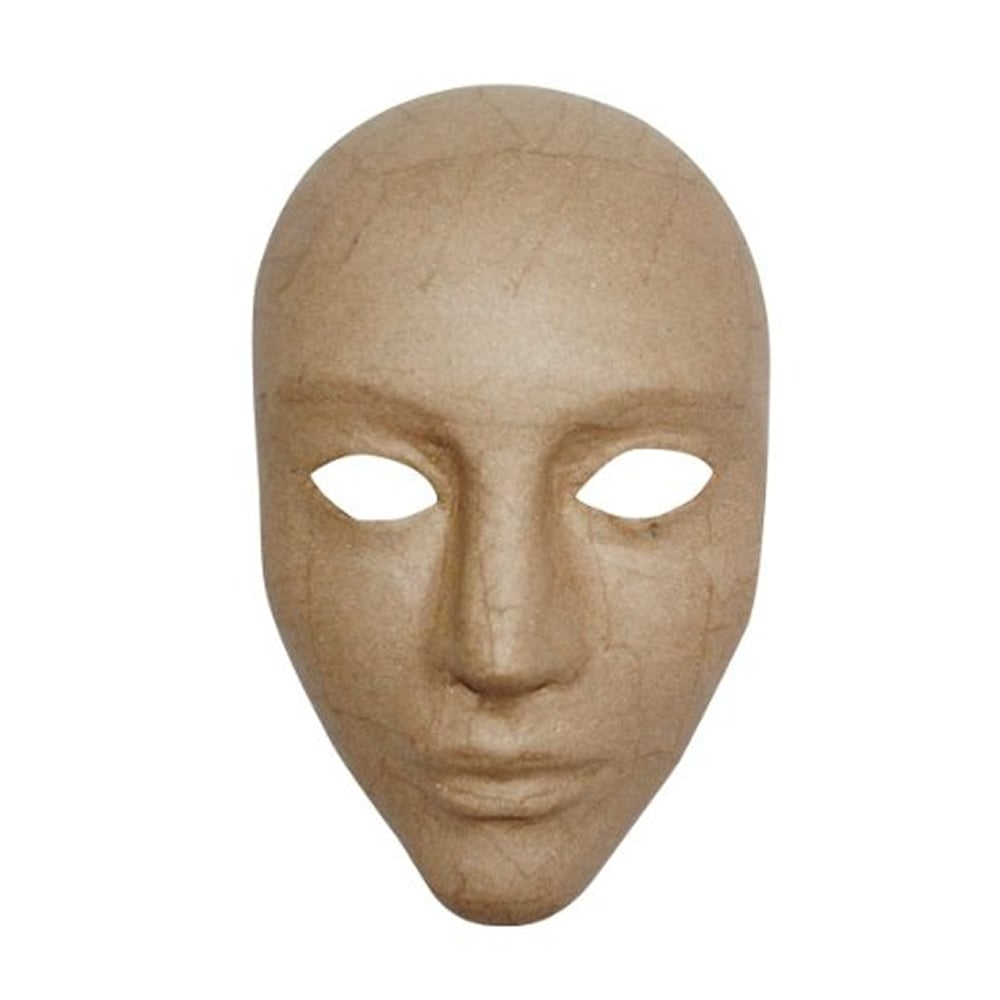 Как сделать свое лицо из папье маше
