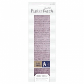 Papier Patch Deco Sheets:3 sheets 260 x 375 mm: Aged Text