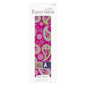 Papier Patch Deco Sheets:3 sheets 260 x 375 mm: Paisley