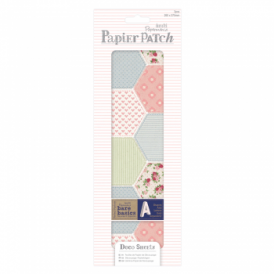 Papier Patch Deco Sheets:3 sheets 260 x 375 mm: Patchwork