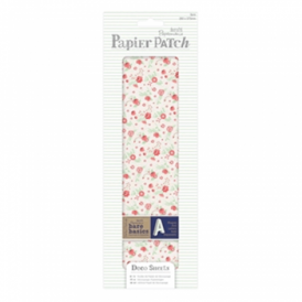 Papier Patch Deco Sheets:3 sheets 260 x 375 mm: Red Ditsy