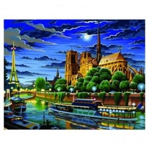 Paris Large Painting By Numbers