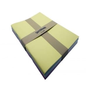 Pastel Softback Pack of 5 A4 Sketch Pads