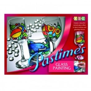 Pastimes Glass Painting*