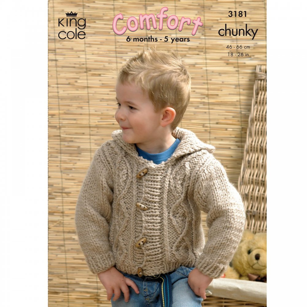 Pattern 3181 - Childrens Jackets - King Cole from ...