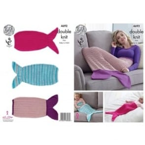 Pattern 4692 - Mermaid Tail Blanket