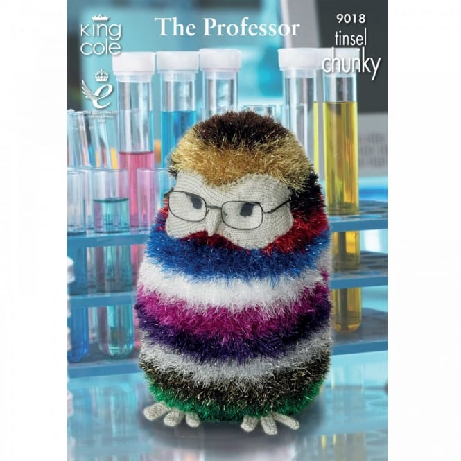 Pattern 9018 - The Professor & Mr Prickles