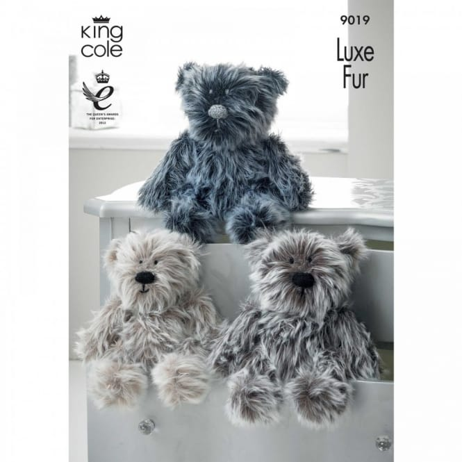 Pattern 9019 - Luxe Fur Bears
