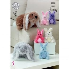 Pattern 9050 Tinsel Chunky Rabbits