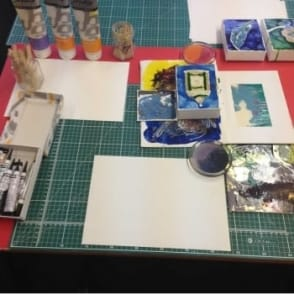 Pebeo Mixed Media Experimenting with Dana| 1.5 hours x2 |Times Listed | Saturday 28th January