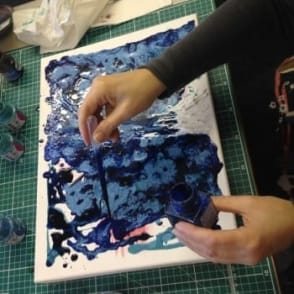 Pebeo Mixed Media Experimenting with Dana| 3.5hrs | Saturday 27th May
