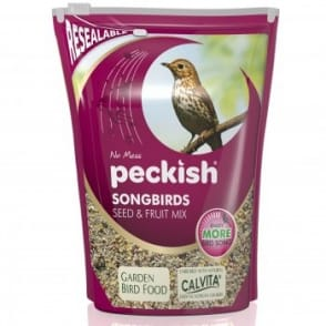 Peckish Songbirds Seed & Fruit Mix (2kg)