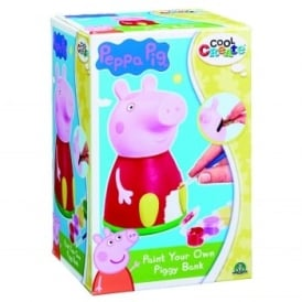 Peppa Pig Paint Your Own Piggy Bank