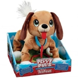 Peppy Pups Brown Dog Toy
